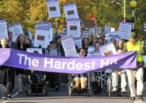 Norwich Hardest Hit demonstration 22nd October 2011