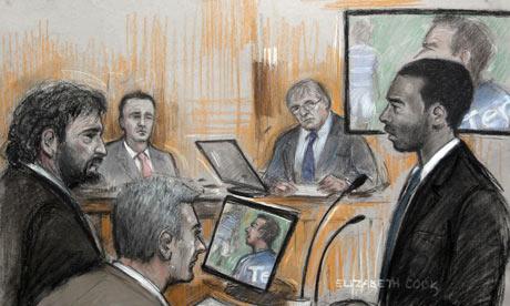 Anton Ferdinand gives evidence against John Terry in court