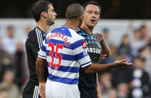 Chelsea captain John Terry is accused of racially abusing Anton Ferdinand in October 2011