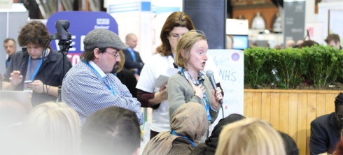 NHS Expo in Manchester last month - Innovation in Health and Care